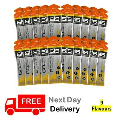 Science in Sport (SiS) GO Isotonic Energy Gels 60ml  X 20 Pack - All Flavours