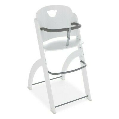 PALI Pappy Wooden High Chair White