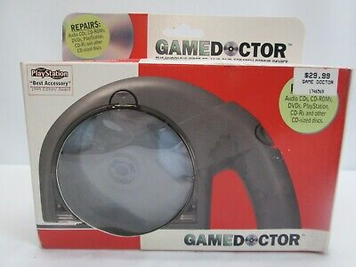 Game Doctor Cd/DVD/Game Cleaner And Repair Device Open Box