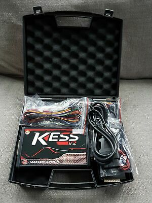 KESS V2 V5.017 ECU Remapping package FULL kit, protective hard case, ECU Tuning