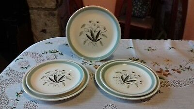 Alfred Meakin Hedgerow plates x 5 vintage
