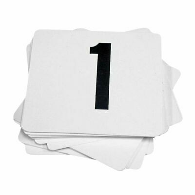 Esselte Table Numbers 1-10 White