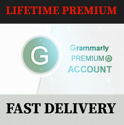 Grammarly Premium Account ✓Lifetime Warranty✓Fast Delivery ✓Grammarly Pro