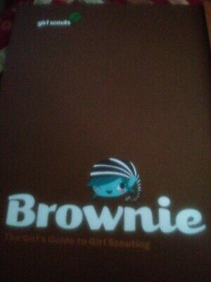 The Official Girl Scout Brownie Handbook Guide To Girl Scouting Book Binder