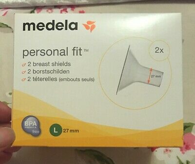 Medela Personal Fit Breast Shield x2 Large, 27mm