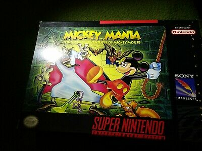MICKEY MANIA: TIMELESS Adventures Of Mickey Mouse - Snes