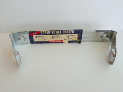 Nos 1961 Vintage Ekco Paper Towel Holder Chrome Wall Mount, C-2531, New Old