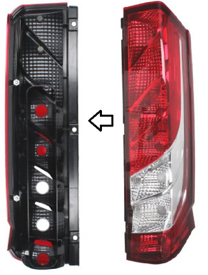 1x LAMPE FEU ARRIERE DROIT IVECO DAILY 03.2014- NEUF 5801523221 !
