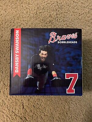 "Dansby Swanson Bobblehead Atlanta Braves | ""The Flow"""