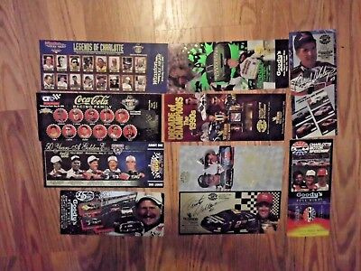 Asst.Lot of Nascar Ticket items. Charlotte, Winston, Goodys and others