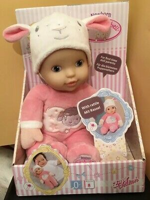 BNIB Zapf Creation Newborn Baby Annabell With Internal Rattle Suitable 0+
