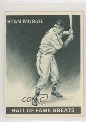 1971 Allstate Insurance Charger Hall of Fame Series Stan Musial Baseball Card