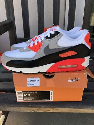 NIKE AIR MAX 90 OG Size 8 725233 106 infra red vsp patch