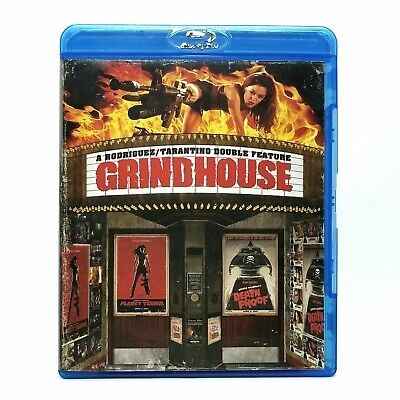 Grindhouse Planet Terror / Death Proof Like New Blu-ray Double Feature Tarantino
