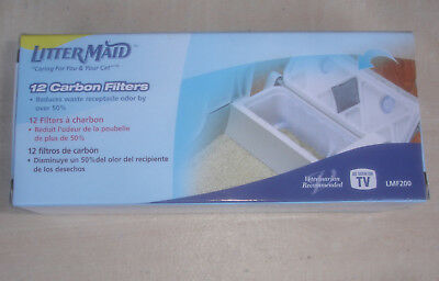 # Litter Maid Cat Box Carbon Filters LMF200 Open Box 10 Remaining