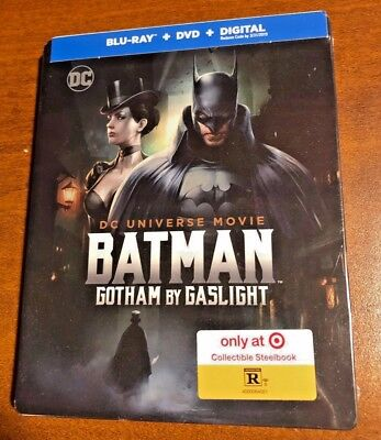 Batman: Gotham by Gaslight Blu-ray/DVD 2-Disc Set Includes Digital Copy NEW