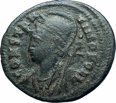 CONSTANTINE I the GREAT Founds Constantinople Ancient Roman Coin SOLDIERS i78124