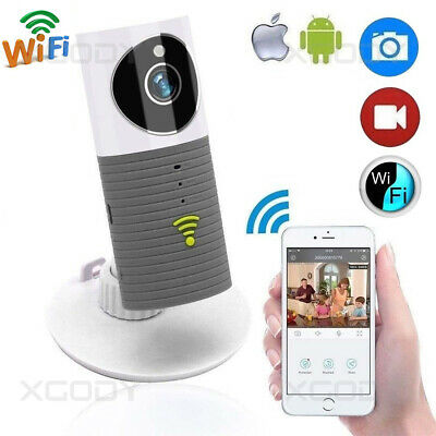 960P WiFi Wireless IP Camera Home Night Vision Auto Tracking Security Monitor UK