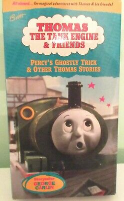 "Thomas The Tank Engine & Friends ""Percy's Ghostly Trick"" VHS-Tested-RARE, EUC"