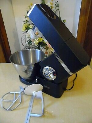 Kenwood Chef KM400 Classic Mixer Limited Edition in Black Graphite & Chrome.