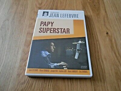 Papy Superstar - Dvd Rare - Collection Jean Lefebvre - Pierre Tornade