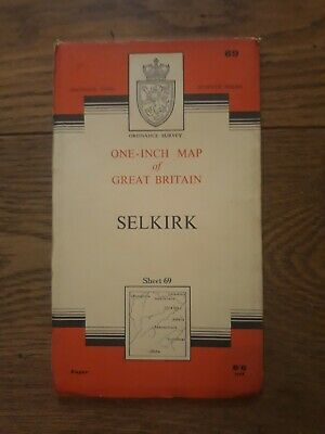 Ordnance Survey One Inch Map - Sheet 69 Selkirk (Paper)