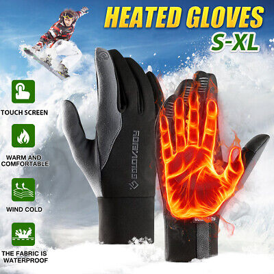 Winter Warm Thermal Waterproof Touch Screen Gloves Sports Cycling Running Walk