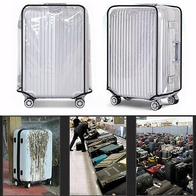 20''22''24''26''28''30'' PVC Waterproof Travel Luggage Protector Suitcase