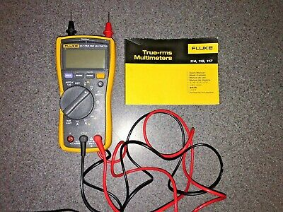 FLUKE 87 V True Rms Multimeter W/Leads -Great Condition