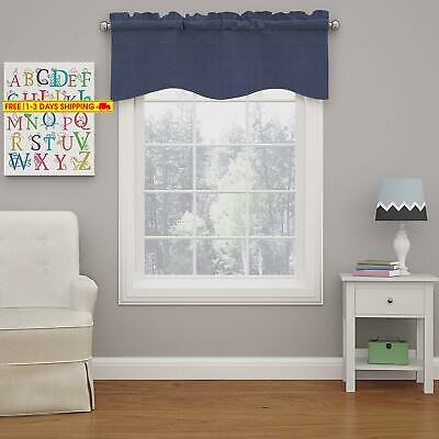 Eclipse 15453042X018Den Kendall 42-Inch By 18-Inch Blackout Wave Window Valance,