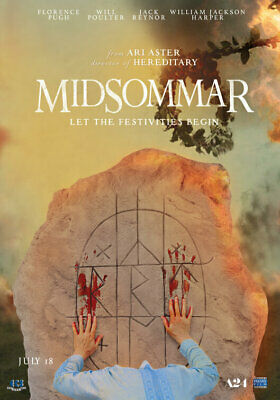 Midsommar Movie Poster A3 size