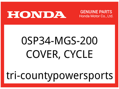 301 Auto Parts >> Honda Oem Part 0sp34 Mca 301 Auto Parts And Vehicles