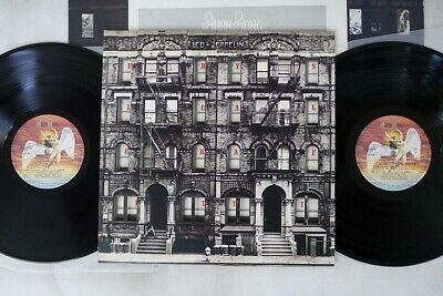 LED ZEPPELIN PHYSICAL GRAFFITI SWAN SONG P-6317N Japan VINYL 2LP