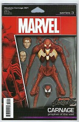 Absolute Carnage # 1 Action Figure Variant NM Marvel