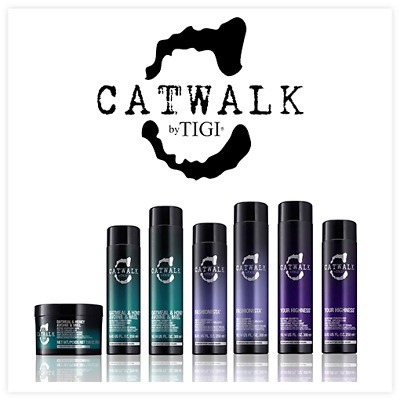 TIGI Catwalk Hair Care & Styling Products: Shampoos Conditioners, Creams, Sprays