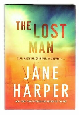 New Jane Harper THE LOST MAN 1st Edition First U.S. Printing Hardcover