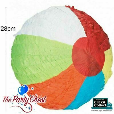 Colourful BEACH BALL Pinata Party Game Decoration 28cm P12952