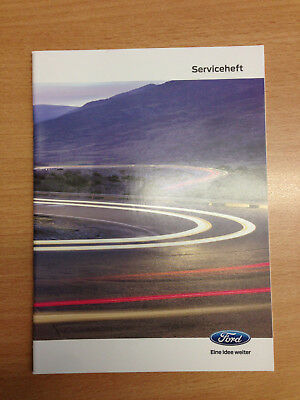 Ford original neu Wartungsheft Scheckheft Serviceheft Service plan book 12/2017