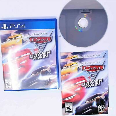 Cars 3 Driven to Win (Playstation 4 / PS4)