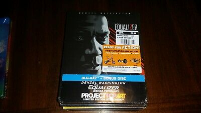 The Equalizer - Senza perdono (Project Pop Art) (Blu-Ray Disc - SteelBook)