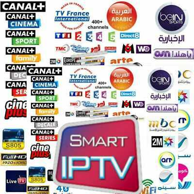 Smart iptv, 1 ans subscription,vlc,mag,kodi,code m3u,android,7000 chaines+vod