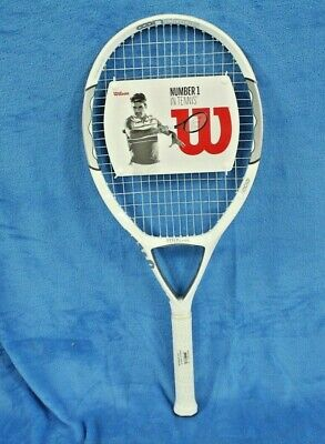 Wilson N1 Without Cover Tennis Racket - Ages 13+