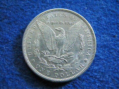 1888 Morgan Silver Dollar - Scarcer - Bright AU - Looks BU - Free U S Shipping