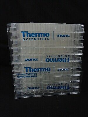 THERMO-SCIENTIFIC Nunc Plastic 96-Well Clear Flat-Bottom Immuno Plates (10/Pack)