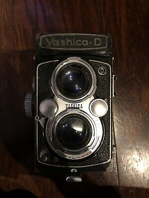 Yashica D TLR Camera with Lens