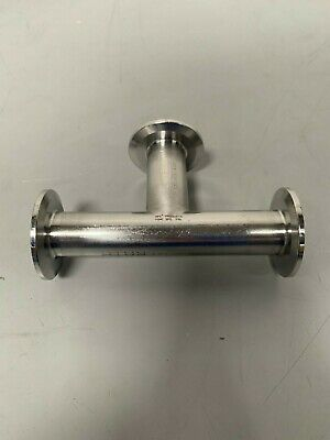 "HPS Products 5.5"" 316L Stainless Steel 3-way Pipe w/ 2"" Sanitary Fittings"