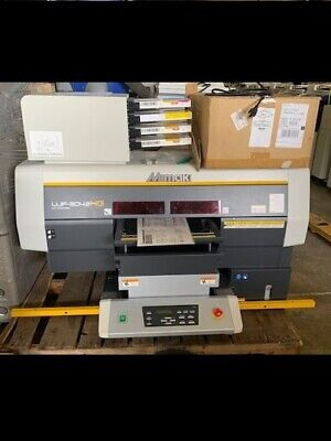 MIMAKI UJF -3042 HG wide format flatbed UV printer (USED- Great