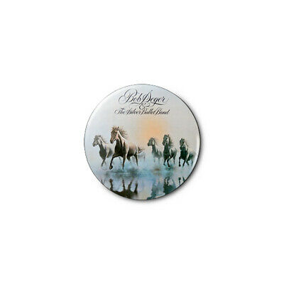 Bob Seger & The Silver Bullet (b) 1.25in Pins Buttons Badge *BUY 2, GET 1 FREE*