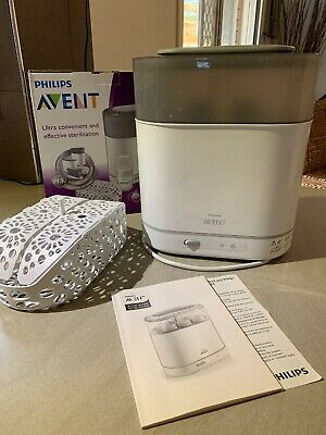 Philips AVENT 4in1 Electric Steam Steriliser IN FANTASTIC CONDITION Dummy Bottle