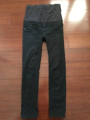 Black Jeanswest Ladies Maternity Skinny Jeans Size 8